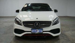 2017 Mercedes-Benz A-Class W176 807MY A250 D-CT 4MATIC Sport Cirrus White 7 Speed