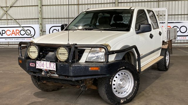Used Holden Rodeo RA LX Crew Cab Rocklea, 2004 Holden Rodeo RA LX Crew Cab White 4 Speed Automatic Utility