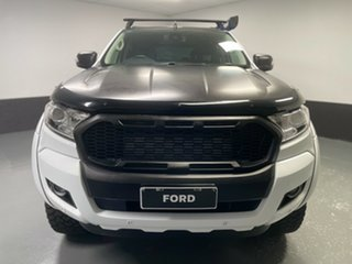 2018 Ford Ranger PX MkII 2018.00MY XLT Double Cab Frozen White 6 Speed Sports Automatic Utility.