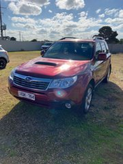 2010 Subaru Forester S3 MY10 XT AWD Premium Camellia Red Pearl 4 Speed Sports Automatic Wagon.
