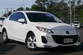 2013 Mazda 3 BL10F2 MY13 Neo Activematic White 5 Speed Sports Automatic Sedan.