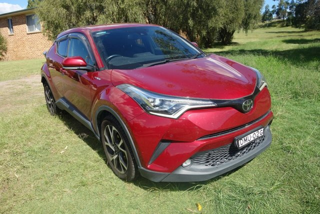 Used Toyota C-HR NGX10R S-CVT 2WD East Maitland, 2017 Toyota C-HR NGX10R S-CVT 2WD Maroon 7 Speed Constant Variable Wagon