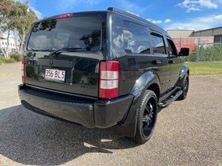 2012 Dodge Nitro KA MY10 SX Black 4 Speed Automatic Wagon.