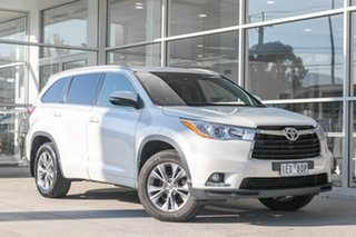 2015 Toyota Kluger GSU50R GXL 2WD White 6 Speed Sports Automatic Wagon.