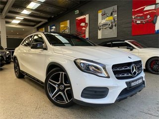 2018 Mercedes-Benz GLA-Class X156 GLA220 d White Sports Automatic Dual Clutch Wagon.