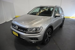 2017 Volkswagen Tiguan 5N MY18 132TSI DSG 4MOTION Adventure Silver 7 Speed