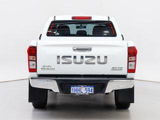 2017 Isuzu D-MAX TF MY17 LS-U HI-Ride (4x4) White 6 Speed Automatic Crew Cab Utility