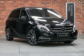 2012 Mercedes-Benz B-Class W246 B250 BlueEFFICIENCY DCT Night Black 7 Speed.