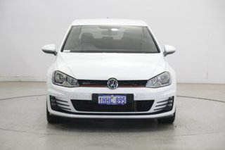 2015 Volkswagen Golf VII MY15 GTi White 6 Speed Manual Hatchback.