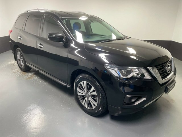 Used Nissan Pathfinder R52 Series II MY17 ST X-tronic 2WD Cardiff, 2018 Nissan Pathfinder R52 Series II MY17 ST X-tronic 2WD Diamond Black 1 Speed Constant Variable