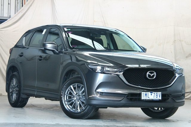 Used Mazda CX-5 MY18 (KF Series 2) Maxx Sport (4x4) Altona North, 2018 Mazda CX-5 MY18 (KF Series 2) Maxx Sport (4x4) Grey 6 Speed Automatic Wagon