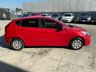 2015 Hyundai Accent RB3 MY16 Active Veloster Red 6 Speed Constant Variable Hatchback