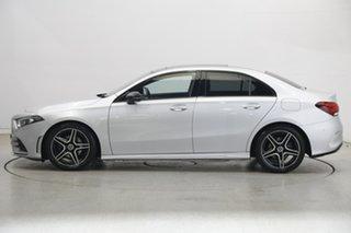 2019 Mercedes-Benz A-Class V177 A200 DCT Silver 7 Speed Sports Automatic Dual Clutch Sedan.