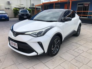 2020 Toyota C-HR NGX10R Koba S-CVT 2WD White 7 Speed Constant Variable Wagon.