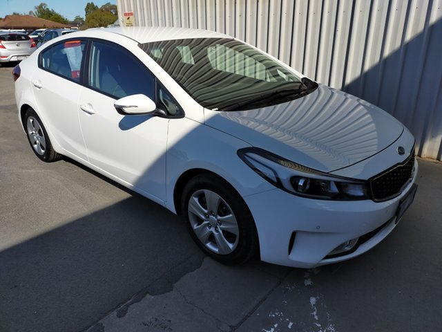 Used Kia Cerato YD MY18 S Horsham, 2017 Kia Cerato YD MY18 S 6 Speed Sports Automatic Sedan
