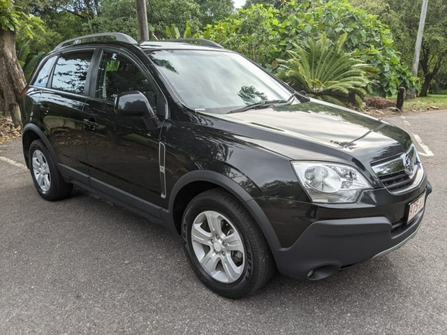 Used Holden Captiva CG MY10 5 Stuart Park, 2010 Holden Captiva CG MY10 5 Black 5 Speed Manual Wagon