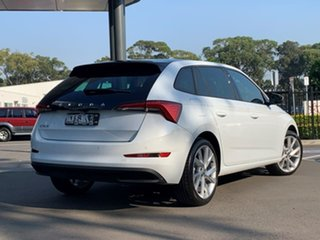 2021 Skoda Scala NW MY21 110TSI DSG White 7 Speed Sports Automatic Dual Clutch Hatchback