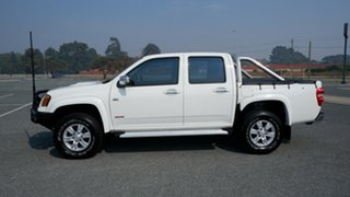 2009 Holden Colorado RC MY09 LT-R Crew Cab White 4 Speed Automatic Utility