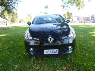 2015 Renault Clio IV B98 Expression+ Black Sports Automatic Dual Clutch Hatchback.