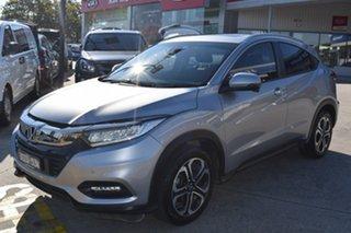 2019 Honda HR-V MY20 VTi-LX Billet Silver 1 Speed Constant Variable Hatchback.