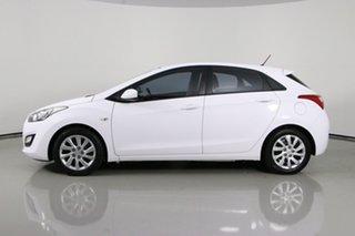 2015 Hyundai i30 GD MY14 Active White 6 Speed Automatic Hatchback