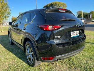 2018 Mazda CX-5 KF4WLA Akera SKYACTIV-Drive i-ACTIV AWD Jet Black 6 Speed Sports Automatic Wagon