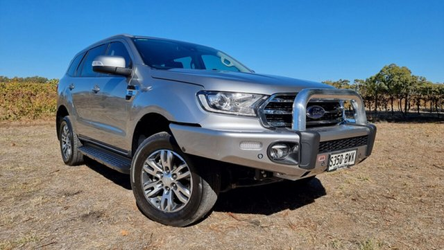 Used Ford Everest UA II 2019.00MY Trend Nuriootpa, 2018 Ford Everest UA II 2019.00MY Trend Aluminium 10 Speed Sports Automatic SUV