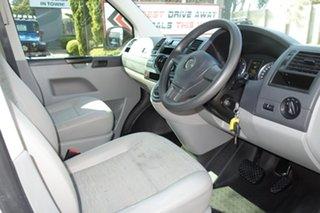 2013 Volkswagen Transporter T5 MY13 TDI400 LWB DSG White 7 Speed Sports Automatic Dual Clutch Van