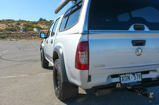 2007 Holden Rodeo RA MY07 LX Crew Cab Silver 5 Speed Manual Utility