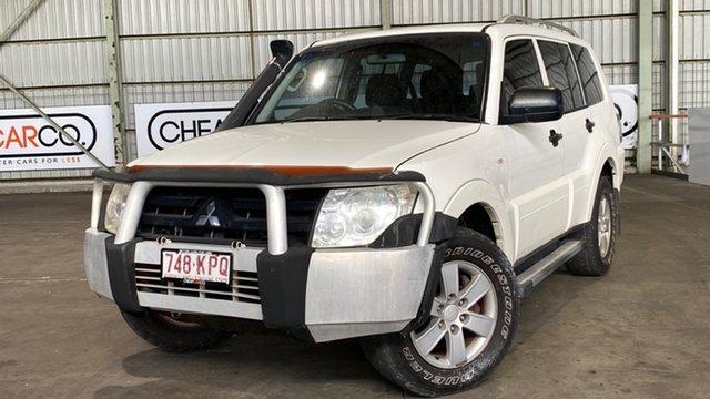 Used Mitsubishi Pajero NS GLX Rocklea, 2007 Mitsubishi Pajero NS GLX White 5 Speed Sports Automatic Wagon