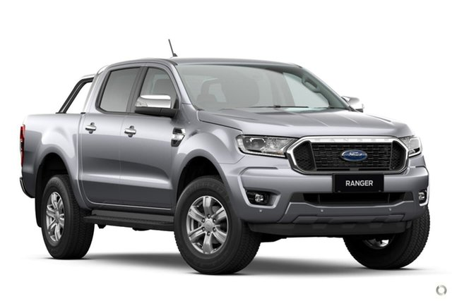 New Ford Ranger PX MkIII 2021.25MY XLT Hi-Rider Oakleigh, 2021 Ford Ranger PX MkIII 2021.25MY XLT Hi-Rider Silver 6 Speed Sports Automatic Double Cab Pick Up
