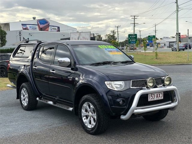 Used Mitsubishi Triton GLX-R Archerfield, 2011 Mitsubishi Triton MN GLX-R Blue 5 Speed Sports Automatic Utility