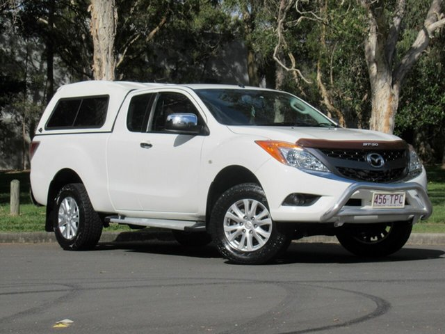 Used Mazda BT-50 UP0YF1 XTR Freestyle, 2012 Mazda BT-50 UP0YF1 XTR Freestyle White 6 Speed Manual Utility