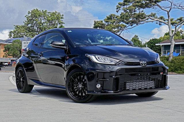Used Toyota Yaris Gxpa16R GR Capalaba, 2020 Toyota Yaris Gxpa16R GR Black 6 Speed Manual Hatchback