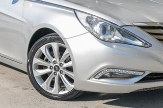 2011 Hyundai i45 YF MY11 Premium Silver 6 Speed Sports Automatic Sedan.