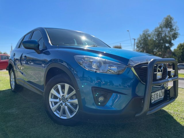Used Mazda CX-5 KE1031 MY13 Maxx SKYACTIV-Drive AWD Sport Hindmarsh, 2013 Mazda CX-5 KE1031 MY13 Maxx SKYACTIV-Drive AWD Sport Blue 6 Speed Sports Automatic Wagon