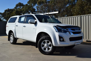 2020 Isuzu D-MAX MY19 LS-M Crew Cab White 6 Speed Sports Automatic Utility.