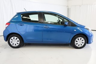 2013 Toyota Yaris NCP130R YR Blue 5 Speed Manual Hatchback.