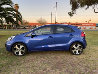 2013 Kia Rio UB MY13 SI Blue 6 Speed Manual Hatchback