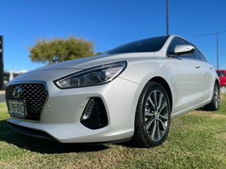 2018 Hyundai i30 PD2 MY19 Elite Silver 6 Speed Sports Automatic Hatchback