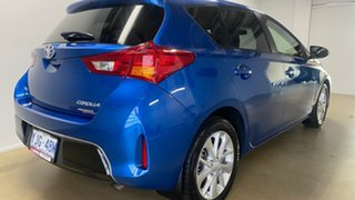 2013 Toyota Corolla ZRE182R Ascent Sport Blue 7 Speed CVT Auto Sequential Hatchback.
