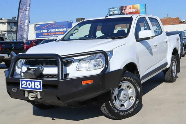 Used Holden Colorado RG MY16 LS Crew Cab Coburg North, 2015 Holden Colorado RG MY16 LS Crew Cab White 6 Speed Sports Automatic Utility