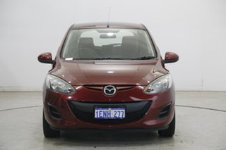 2012 Mazda 2 DE10Y2 MY13 Neo Red 4 Speed Automatic Hatchback.