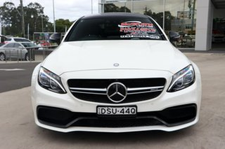 2016 Mercedes-Benz C-Class C205 C63 AMG SPEEDSHIFT MCT S Diamond White 7 Speed Sports Automatic