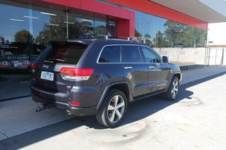 2014 Jeep Grand Cherokee WK MY15 Overland Black 8 Speed Sports Automatic Wagon