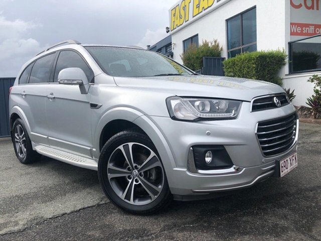 Used Holden Captiva CG MY16 LTZ AWD Slacks Creek, 2016 Holden Captiva CG MY16 LTZ AWD Silver 6 Speed Sports Automatic Wagon