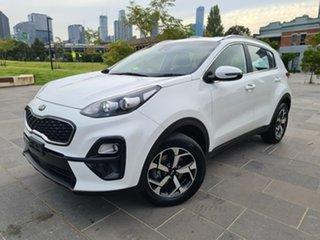 2020 Kia Sportage QL MY20 SX 2WD White 6 Speed Sports Automatic Wagon.