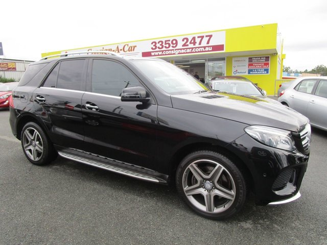 Used Mercedes-Benz GLE-Class W166 807MY GLE250 d 9G-Tronic 4MATIC Kedron, 2016 Mercedes-Benz GLE-Class W166 807MY GLE250 d 9G-Tronic 4MATIC Black 9 Speed Sports Automatic