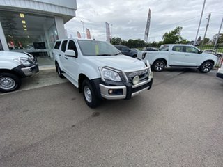2016 Isuzu D-MAX MY15.5 SX Crew Cab White 5 Speed Sports Automatic Utility