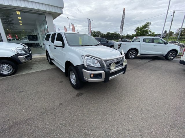 Pre-Owned Isuzu D-MAX MY15.5 SX Crew Cab Cardiff, 2016 Isuzu D-MAX MY15.5 SX Crew Cab White 5 Speed Sports Automatic Utility
